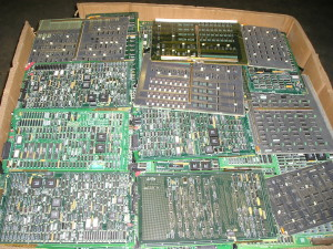 Telecom PCB boards for recycling