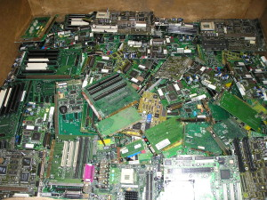 PC computer boards for recycling
